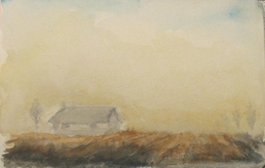 Dusty field