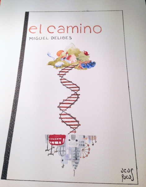 "My book cover for ""El Camino"""