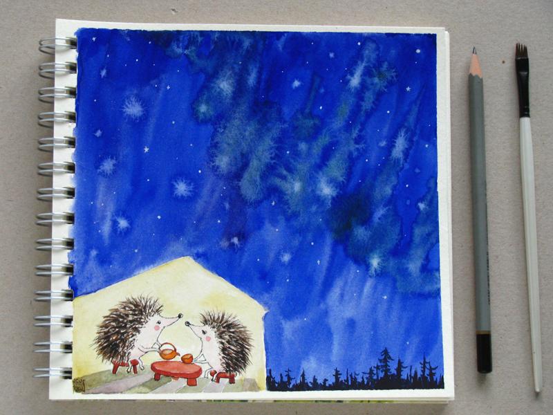 hedgehogs_tea_under_the_stars