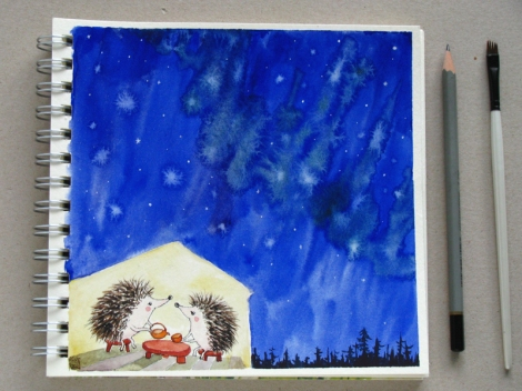 hedgehogs_tea_under_the_stars