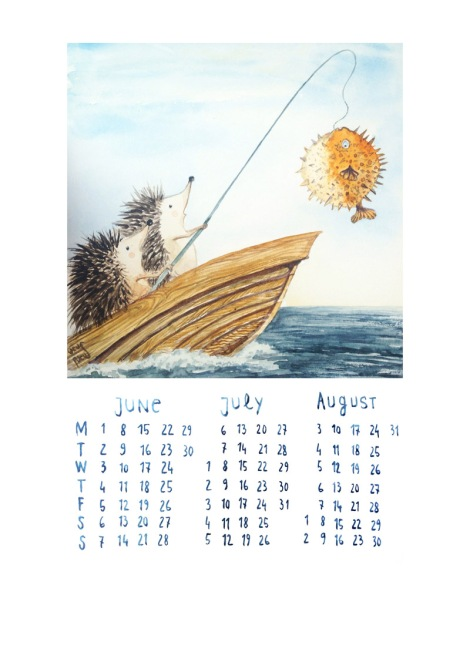 hedgehogscalendar