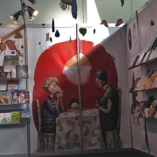 Romanian Stand at the Bologna Fair