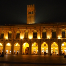 Bologna historical center