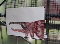Calcografia workshop at the Bologna Botanical garden